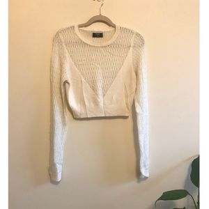 Nasty Gal Knit Cropped Sweater